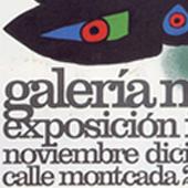 Foto de un cartel de una exposición