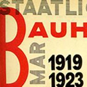 Cartel de Bauhaus