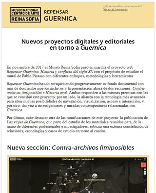Repensar Guernica: nueva sección, entrevistas inéditas y Los viajes de Guernica