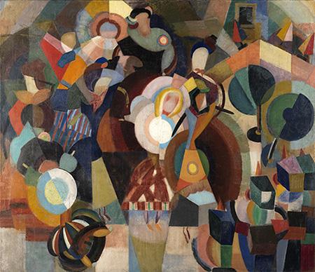 Eduardo Viana. A revolta das bonecas (La revuelta de las muñecas), 1916. Museu Nacional de Arte Contemporânea do Chiado