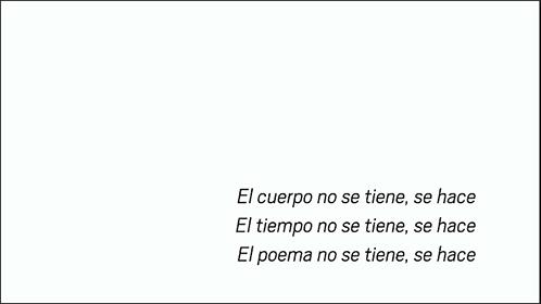 Sergio Raimondi, El poema se hace, 2018