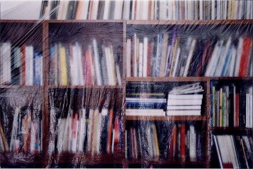 Ignasi Aballí. <em>Biblioteca II</em>, 2002