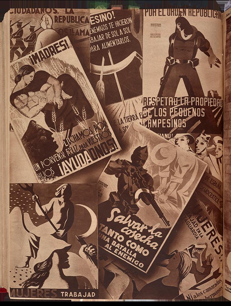 Crónica: revista de la semana, n.º 365, 8 de noviembre de 1936. Madrid: Prensa Gráfica, [1929-1939]. Fondos del Centro de Documentación del MNCARS