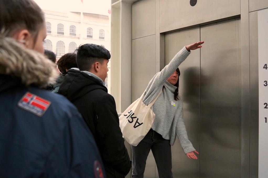 Sesión de Brillante en el Museo Reina Sofía, 2019. Fotografía: Daniel Jordán Pompa