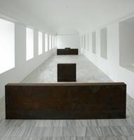 Richard Serra. Equal-Parallel: Guernica-Bengasi (Igual-paralelo: Guernica-Bengasi)
