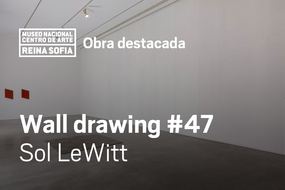 Wall drawing #47 Sol LeWitt
