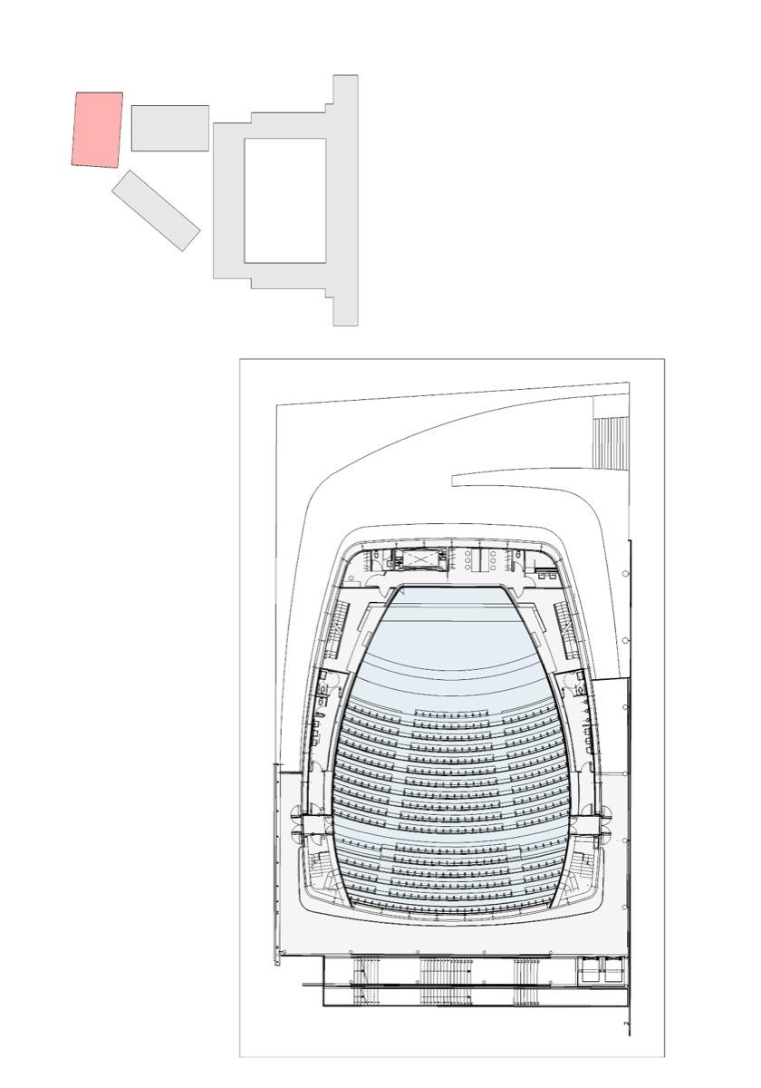 Plano del audiorio 400