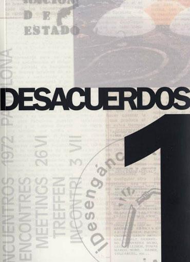 Portada de Desacuerdos 1. Sobre arte, políticas y esfera pública en el Estado español. Cuaderno 1.