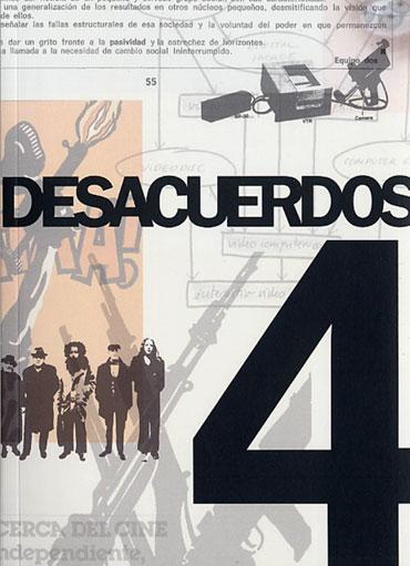 Portada de Desacuerdos 4. Sobre arte, políticas y esfera pública en el Estado español. Cuaderno 4.