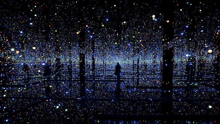 Yayoi Kusama. Infinity Rooms, Instalación