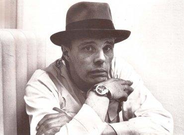 Joseph Beuys en la Kunstalle de Berna, 1969