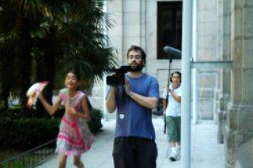 Grabación en los espacios del Museo Reina Sofía, 2008.