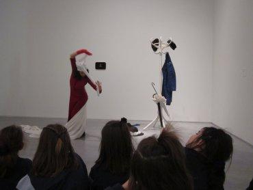 Interpretando Colección 3 a través de la danza.