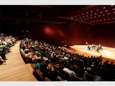 Vista del Edificio Nouvel, Auditorio 400, Museo Reina Sofía @Xavi M. Miró