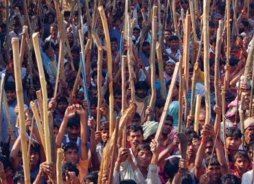 Pramod Gupta. Development at Gunpoint. India, 2007