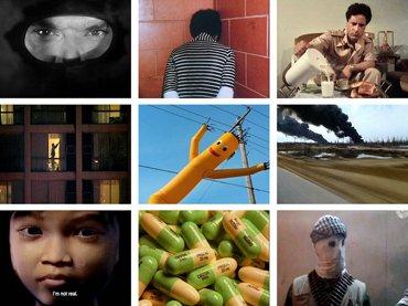 Adam Curtis. Collage a partir de fotogramas de HyperNormalisation [Hipernormalización], 2016
