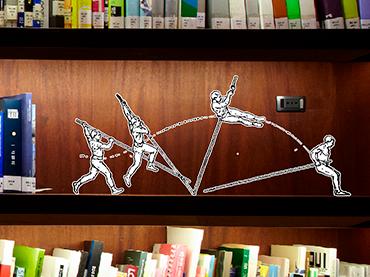 Biblioteca y Centro de Documentación del MNCARS. Fotografía: Joaquín Cortés y Román Lores. Edición: Daniel Pecharromán a partir de imagen procedente de los fondos de la Biblioteca Nacional de España