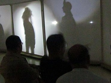 Actuaciones en el Teatro de Sombras de los talleres de Sabatini