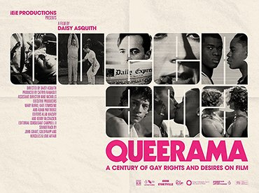 Poster of the film Queerama, Daisy Asquith, UK, 2017
