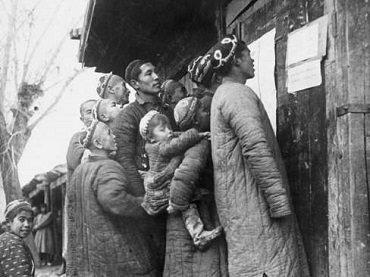 Georgy Zelma. Se fotografía a los mejores mineros, 1930
