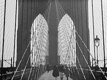 Charles Sheeler y Paul Strand. Manhatta. Película, 1920-21. Cortesía de Filmmakers Showcase