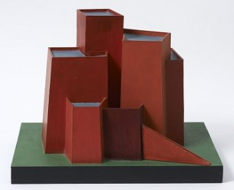 Mathias Goeritz. Laberinto de Jerusalén. Sculpture, 1973. Museo de Arte Latinoamericano de Buenos Aires collection