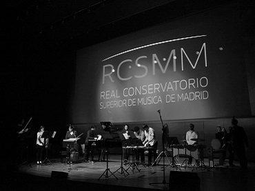 Grupo de Música Contemporánea del RCSMM. Foto: Gerardo Cañellas