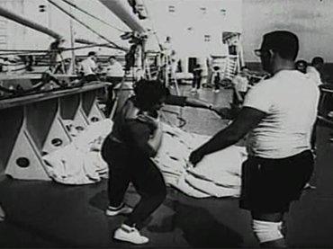 Santiago Álvarez. Cerro pelado. Película, 1966