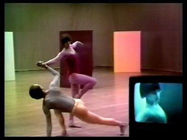Merce Cunningham y Charles Atlas. Fractions I , 1978 Courtesy Electronic Arts Intermix (EAI), New York