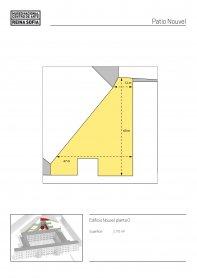 Nouvel Courtyard plan