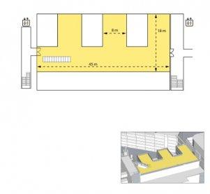 Nouvel Rooftop Terrace plan