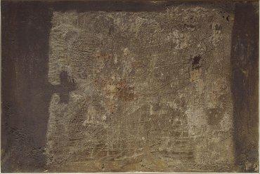 Antoni Tàpies. Pintura, 1955. Painting. Museo Nacional Centro de Arte Reina Sofía Collection, Madrid