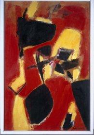 José Guerrero. Composición, 1956. Painting. Museo Nacional Centro de Arte Reina Sofía Collection, Madrid