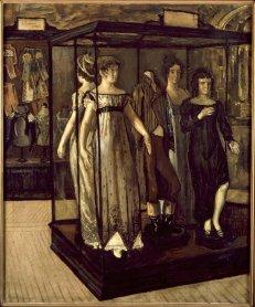 José Gutierrez Solana. Las vitrinas, 1910. Pintura. Colección Museo Nacional Centro de Arte Reina Sofía, Madrid