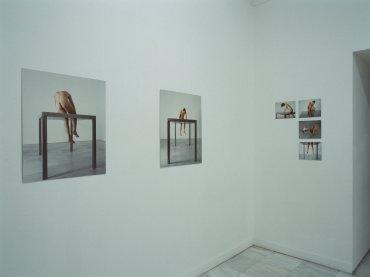 Exhibition view. Javier Codesal: Inmóviles. Fábula de un hombre amado, 1999