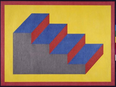 Sol LeWitt. From Derived from a Cubic Rectangle (steps), 1992. Graphic art. Museo Nacional Centro de Arte Reina Sofía Collection, Madrid