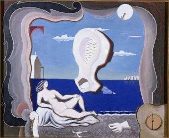 Joan Massanet. Nacimiento de Venus, 1927. Pintura, Colección Museo Nacional Centro de Arte Reina Sofía