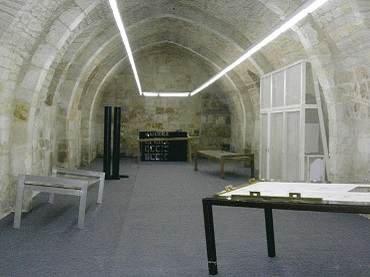 Vista de sala de la exposición. Sergi Aguilar. Perimetrías, 2004