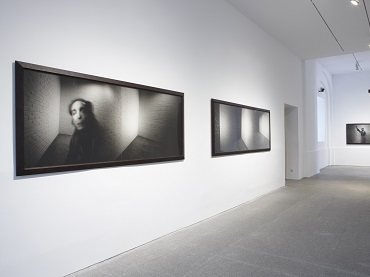 Exhibition view. Alberto García-Alix. From Where There Is no Return, 2008