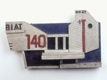 Joaquín Torres García. Objeto plástico. Forma 140 (Plastic Object. Shape 140), 1929. Sculpture. Museo Nacional Centro de Arte Reina Sofía Collection, Madrid