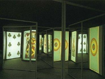 Vista de sala de la exposición. Eugenia Balcells. Sincronías, 1993 Fotografía: Javier Campano