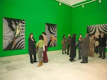 Exhibition view. Victoria Civera. Bajo la piel, 2005