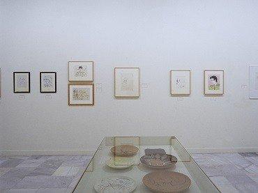 Exhibition view. Cocteau y España, 2001
