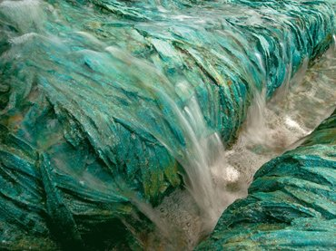 Cristina Iglesias. Towards the Bottom, 2009 (detail). Artist Collection
