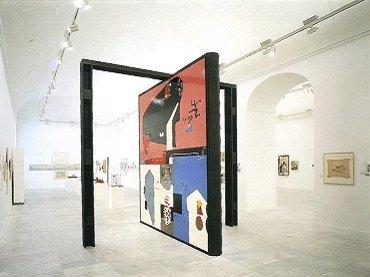 Exhibition view. Le Corbusier (1887-1965), 1987