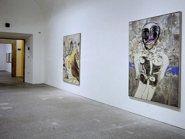 Vista de sala de la exposición. Alfonso Fraile. Obra 1960-1987, 1998