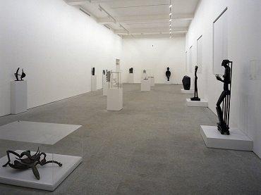 Exhibition view. Alberto Giacometti, 1990