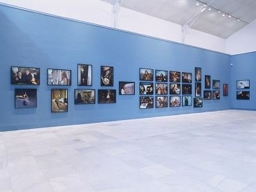 Exhibition view. Nan Goldin. El patio del diablo, 2002