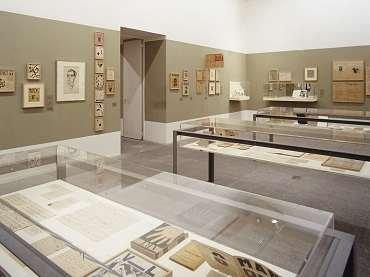 Exhibition view. Salle XIV. Vicente Huidobro y las artes plásticas
