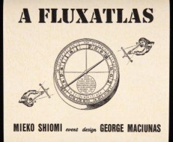 Mieko Shiomi. A fluxatlas: Spatial Poem, 1965 (facsimile from 1992). Poster